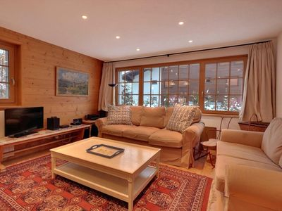 """Photo for Nice 4 piece apartment on the ground floor of the chalet, near """"Les Moulins"""".  Composition :  •"""