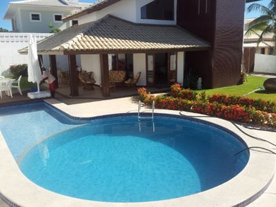 Photo for House of 4 suites, swimming pool, complete infrastructure, comfortable and spacious