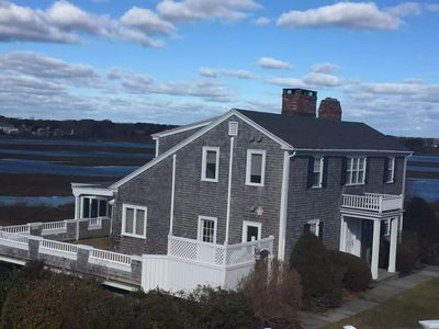 Photo for Squaw Island HyannisPort Oceanview Propert with Private Beach