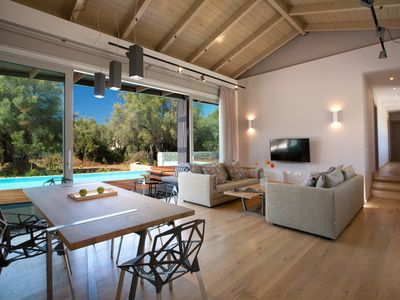 Photo for Kozanitis Brand New Exclusive Villa With Private Pool (Agrikies Villas)