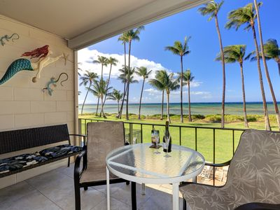 Photo for Oceanfront Maui paradise; owner-managed HKOK208 offers unrivaled luxury and care