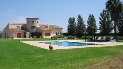 Photo for Rural finca with extensive garden, private pool and sauna