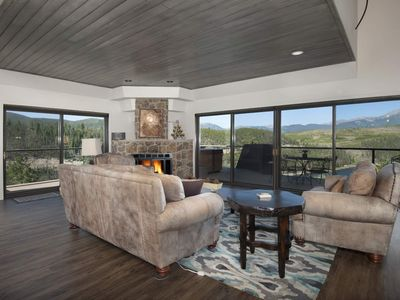 Photo for New Listing! Stunning Luxury Condo! Breathtaking Views Overlooking Lake Dillon/Mtns - Prvt Hot Tub