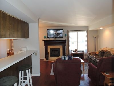 Photo for Roomy corner condo, #155 is just just steps to the Shuttle
