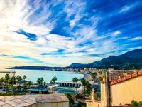 I truly do not believe you can find better accommodations with location and view in mind in Menton!