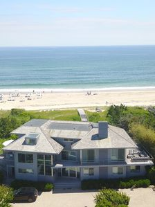 Photo for Oceanfront Watermill home 15 min from US Open Shinnecock Golf Southampton,