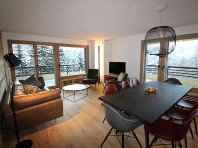 Photo for This spacious apartment is located on the 4th floor of the 1st tower of the building of the Migros.