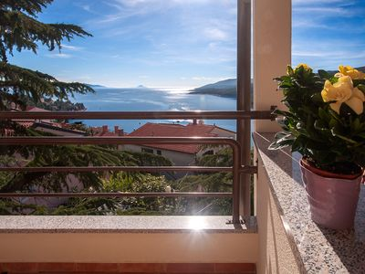 Photo for Apartment with fabulous sea view