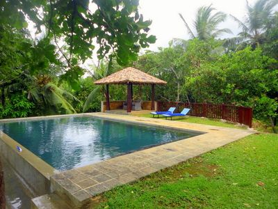 Photo for 3BR Villa in a green heaven of Peace and Tranquility at Koggala Lake