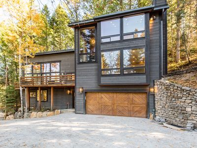 Photo for Mountain Modern on Balsam - Modern, Clean, Comfortable, Hot Tub, Private, Wooded