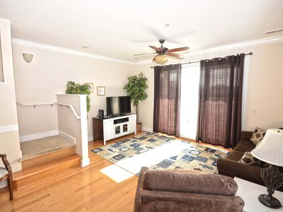 Photo for Luxury 3 Bedroom End Unit Townhouse Near the Boardwalk with Free WiFi Located Downtown and Just Steps to Beach!