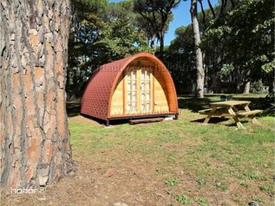 Photo for Camping du Viaduc ** - Pod cabin 2 people