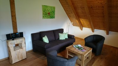 Photo for Biohaus 2, 55qm, 1 Schlafzimmer, max. 3 Personen