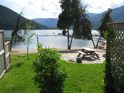 Photo for Beach Front Cabin on Kootenay Lake, one of the nicest beaches on the lake.