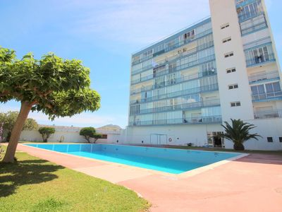 Photo for Very nice studio with communal pools located in a very quiet area of Roses.