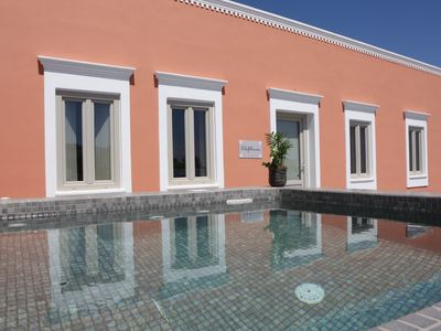 Photo for Nomikos Mansion with two private outdoor hot tubs