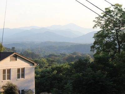 Photo for Excellent Mountain Views and Short Walk to Downtown Asheville