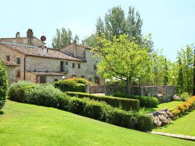 Photo for 2 bedroom Apartment, sleeps 5 in Poggio Santa Cecilia with Pool and WiFi