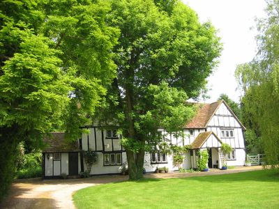 Photo for Gostelow House, a grade II listed, 16th century half-timbered house