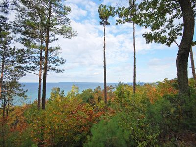 Photo for Beautiful Lake Michigan Views. 1BR/2BA Glen Arbor Condo. Acc: 4