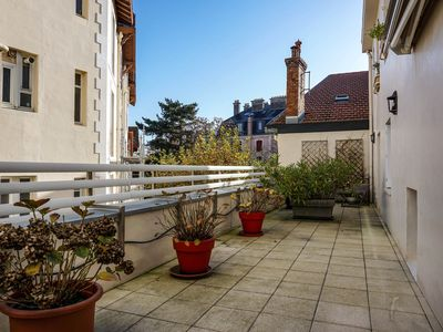 Photo for YOUCCA // MENDI apartment in Biarritz quiet neighborhood with terraces
