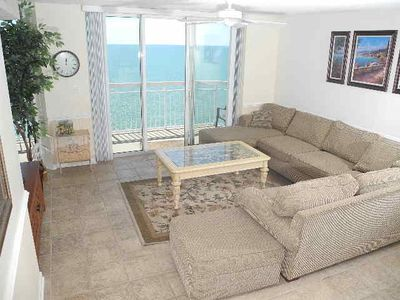 Photo for Crescent Shores Oceanfront Unit 1612! Stunning Condo. Book your get away today!