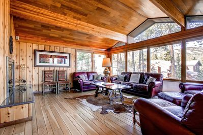 Lonestar Lodge Living Room Breckenridge Luxury Home Rentals