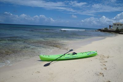 Kayak right off our beach