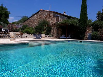 Photo for Romantic Private Villa, Charming Pool 5x10, Minervois Vineyards,South Of France