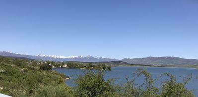 Photo for Village house in the Ebro reservoir