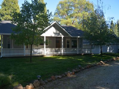 Photo for Lassen retreat: Lovely 3 Br 2 bath home on 1 acre w/ meadow & forest views