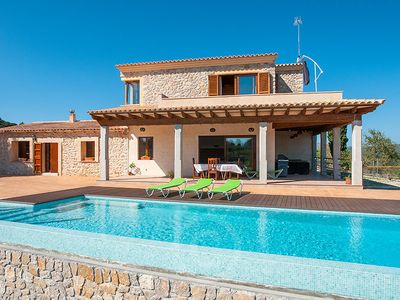Photo for Modern Villa with large pool in Arta.