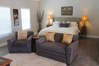 Bedroom with Seating Area