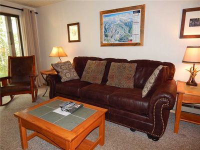 Photo for Bright Two Bedroom Winter Park Condominium On Shuttle Route to Winter Park Resort