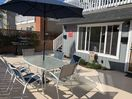 Large  Patio w/  Private BBQ  on quiet court just steps from the beach