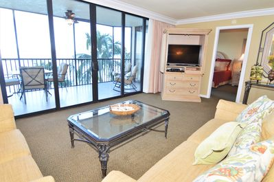en bord de mer balcon 2 chambres sanibel harbour resort. Black Bedroom Furniture Sets. Home Design Ideas
