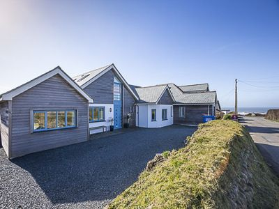 Photo for Luxury contemporary 5 bedroom house with sea views and right by fabulous beaches