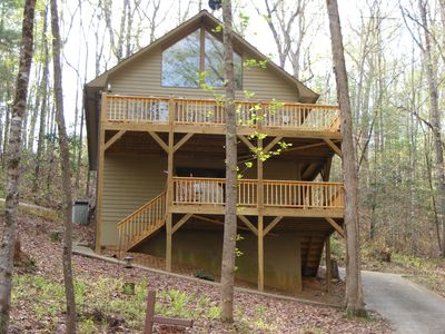 Photo for Hideaway Chalet at Lake Hiwassee Bear Paw
