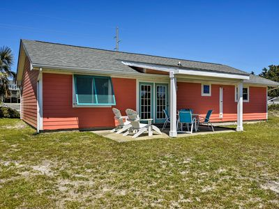 Photo for NEW! Colorful Emerald Isle Home, Walk to the Beach