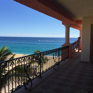 Photo for Beachfront 2nd Level, 2 Bedroom, 3 Bath Penthouse Unit At Playa Grande Resort