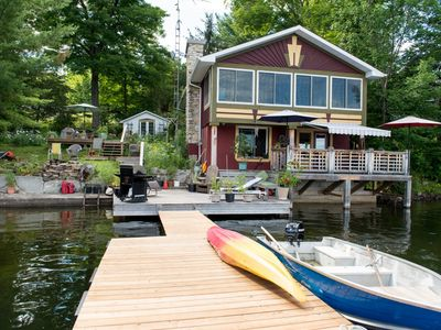 Photo for Awesome Waterfront Cottage