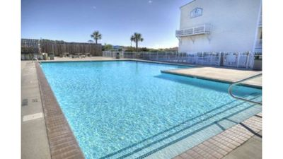 Photo for Gorgeous 3 BR/2.5 BA Ocean View Condo-POOL,Elevator-Close to Beach-Sleeps 8