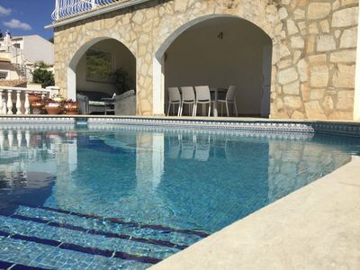 Photo for Calpe/Costa Blanca; villa with private ( heated) pool and superb sea view