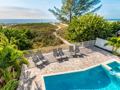 Photo for New Construction - Direct Beach Front Pool Home - 6 Bedrooms - 4.5 Baths