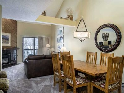 Photo for Top floor multi-level condo with loads of on-site amenities including winter shuttle