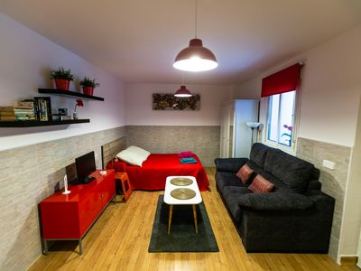 Photo for Cozy apartment in the heart of the city.