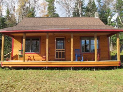 Photo for Great newer cabin with shared access to Rangeley Lake
