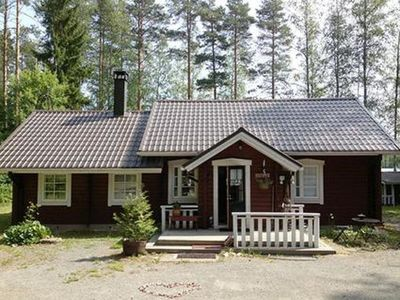 Photo for Vacation home Huwila in Mäntyharju - 7 persons, 1 bedrooms