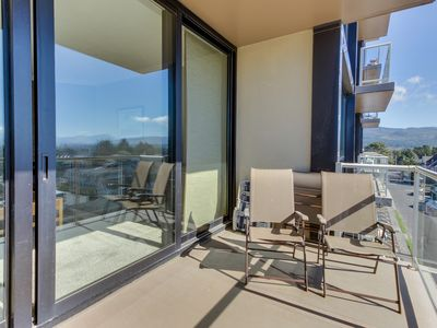 Photo for Dog-friendly condo with beautiful views, cozy fireplace, and shared pool!