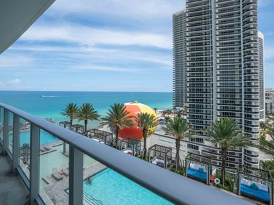 Photo for Gorgeous 1 BR Ocean View Apt at Hyde Resort. Right on the Beach!